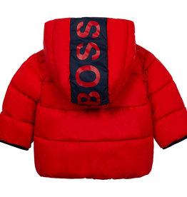 Hugo Boss rode dons jas