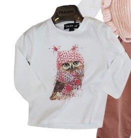 Please t-shirt wit  + print uil