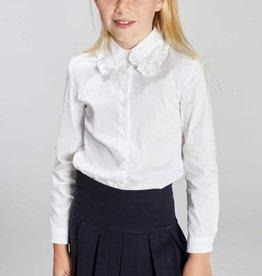 Blue Bay blouse wit