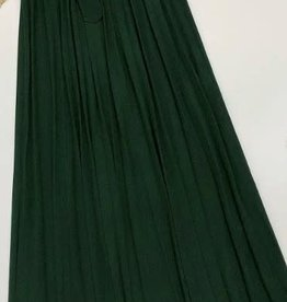 rok groen lang plissé
