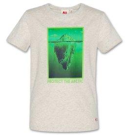 AO76 grijs mele t-shirt arctic