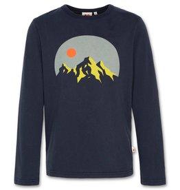 AO76 donkerblauw t-shirt lm berg
