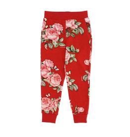 Monnalisa rode bloemen broek