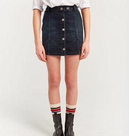 Indee jeans rok doorgeknoopt