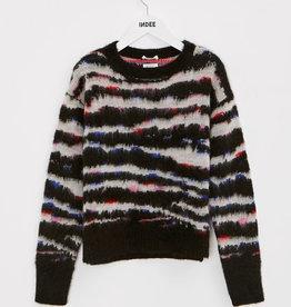 Indee mohair trui zwart kleur