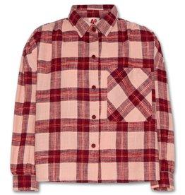 AO76 geruite blouse