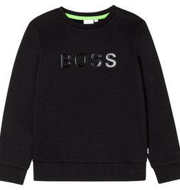 Hugo Boss zwarte trui neopreen