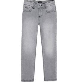Hugo Boss grijze jeans broek