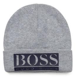 Hugo Boss grijze muts met Boss