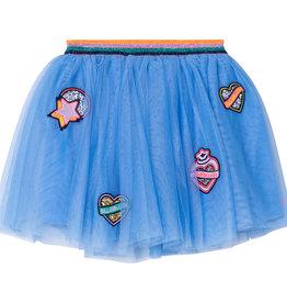 Billieblush lichtblauwe tule rok