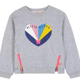 Billieblush grijs chine sweater