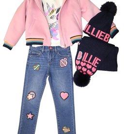 Billieblush roze jasje bontkraag