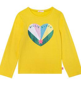 Billieblush geel t-shirt hartje