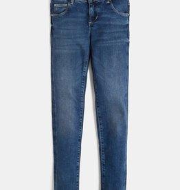 Guess blauwe skinny jeans broek