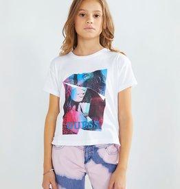 Guess wit t-shirt kleuren print