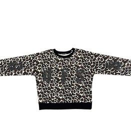 Guess sweater leopard print