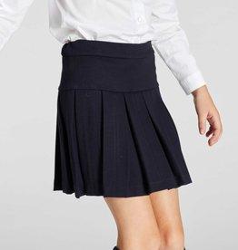 Blue Bay rok Kristi blauw St-Pieters schooluniform plooien stretch kwaliteit