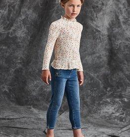 Abel&Lula skinny jeans broek blauw