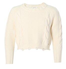 Kocca witte trui viscose/polyester
