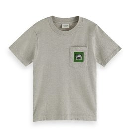 Scotch&Soda grijs melange t-shirt
