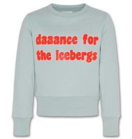 AO76 sweater mintgroen met fluo