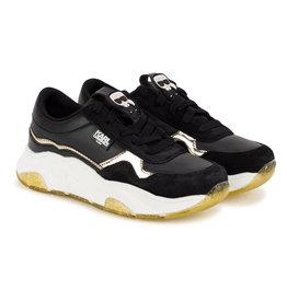 Karl Lagerfeld zwarte sneakers instappers