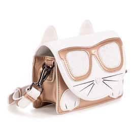 Karl Lagerfeld handtas wit poes bril