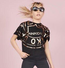 Pinko Up zwart t-shirt jersey
