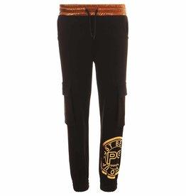 Pinko Up broek zwart met rose goud