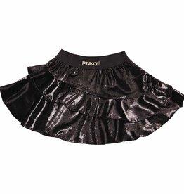 Pinko Up zwarte glitter rok