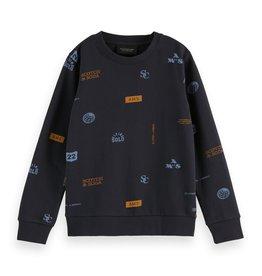 Scotch&Soda All-over print sweater
