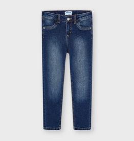 Mayoral skinny jeans broek middenblauw