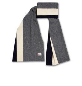 AO76 sjaal grijs streep