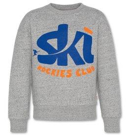 AO76 sweater grijs mele ski