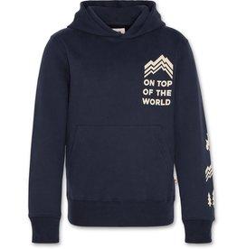 AO76 sweater hoodie donker blauw