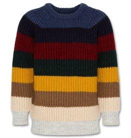 AO76 strepen trui multicolor
