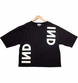 Indee navy t-shirt logo
