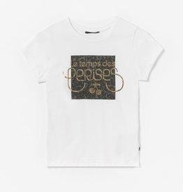 Le temps des cerises T-shirt ecru logo