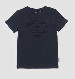 Le temps des cerises T-shirt donkerblauw