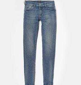 Le temps des cerises broek jeans blauw
