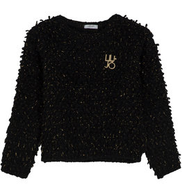 Liu Jo trui knitwear zwart glitter