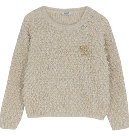 Liu Jo trui knitwear ecru glitter