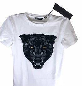 Antony Morato wit t-shirt km panter ogen