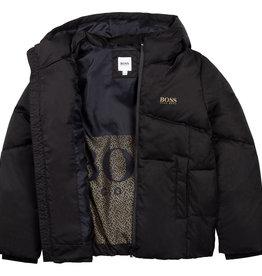 Hugo Boss zwarte dons jas