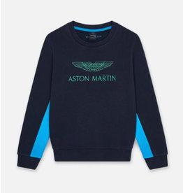 Hackett sweater aston martin blauw