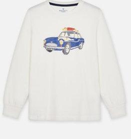 Hackett t-shirt ecru auto logo
