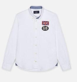 Hackett hemd wit oxford