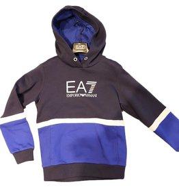 EA7 sweater navy  kobalt wit