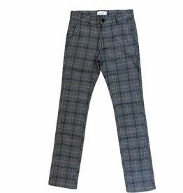 Scapa broek geruit grijs blauw