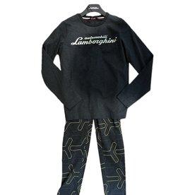 Lamborghini grijze pyjama y print